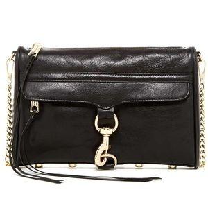 Rebecca Minkoff MAC D ring leather bag